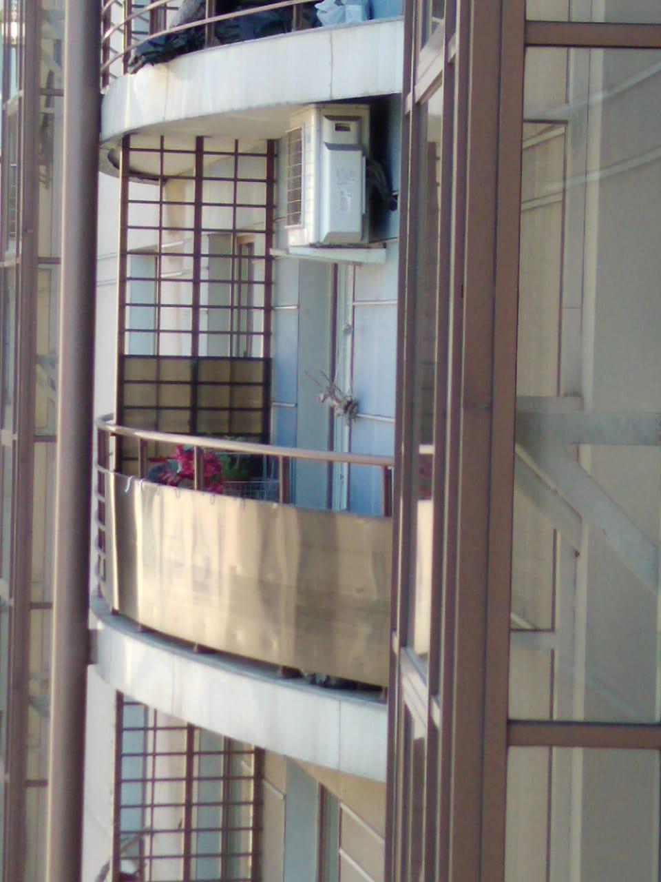 Обшивка балкона поликарбонатом Воскресенская набережная д 4