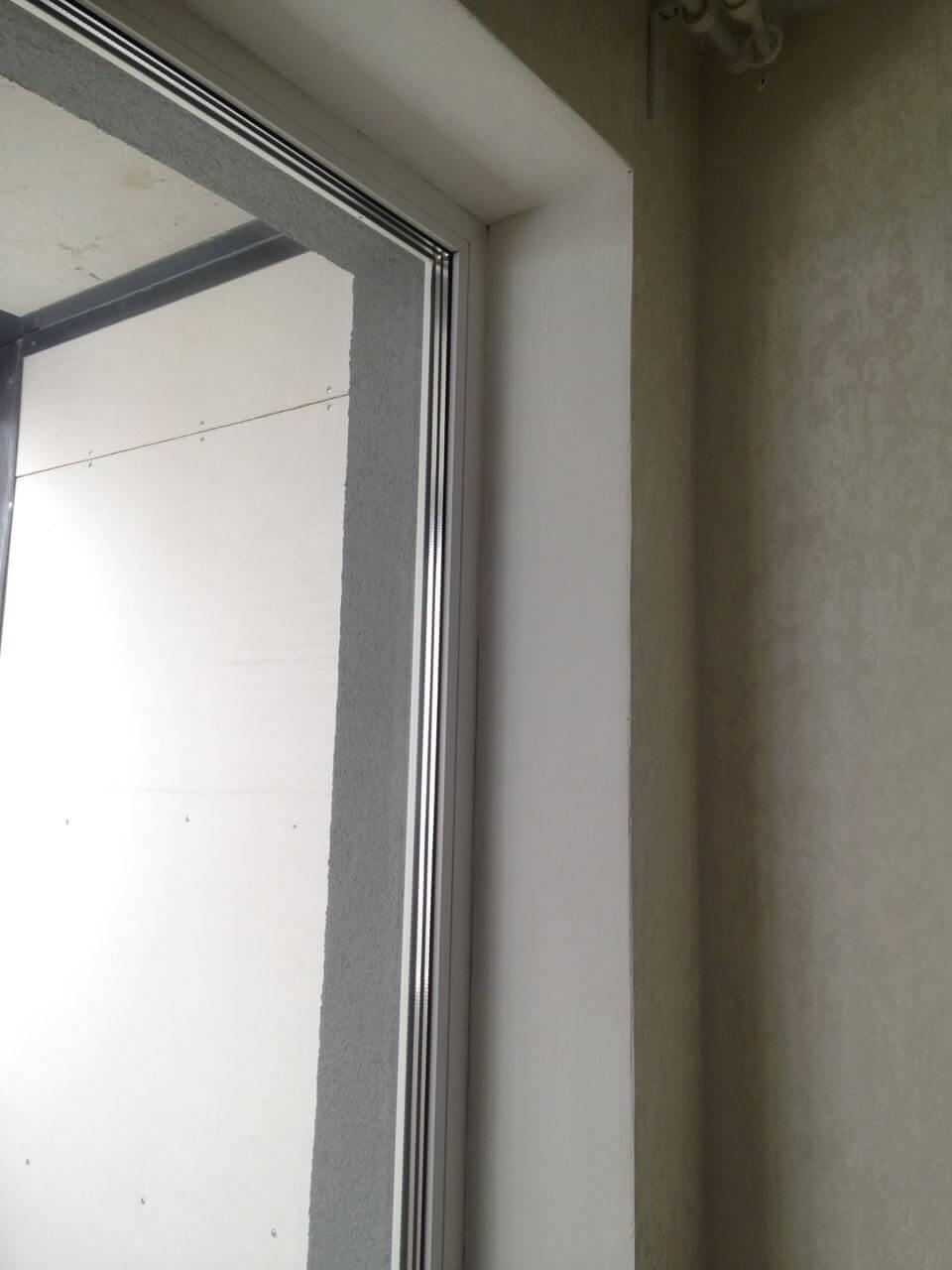 Установка рулонных штор