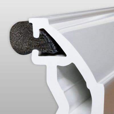 Замена уплотнителя в алюминиевых окнах